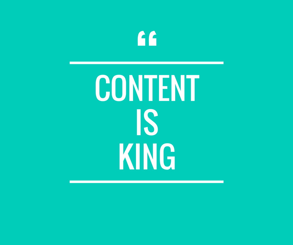 Content is King- Drive Traffic to Blog