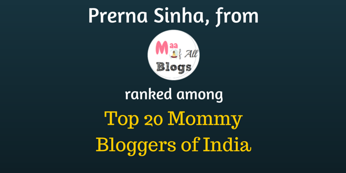 MaaOfAllBlogs Top 20 Mommy Bloggers of India